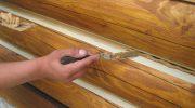 Как заделать трещины в деревянном брусе без следа