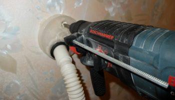 Как научиться сверлить стены без пыли и грязи