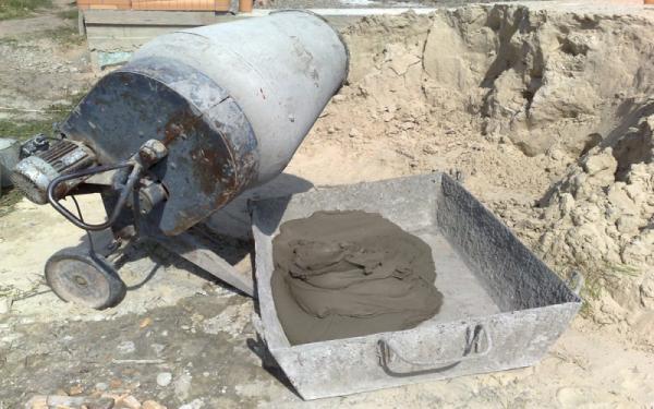 Привести бетон раствор готовый кладочный тяжелый цементный расценка