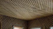 Как починить просевший деревянный потолок