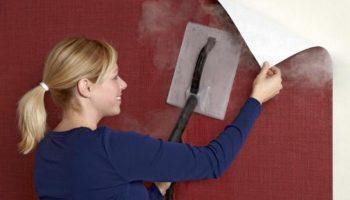 Почему моющиеся обои трудно отодрать со стен и как это сделать быстрее