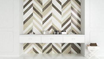 5 необычных идей для оформления стен в гостиной плиткой