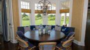 Какие варианты расстановки мебели в кухне с эркером можно использовать