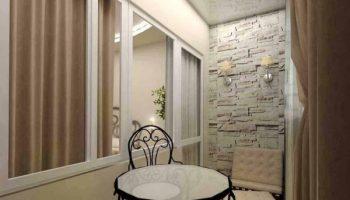 Ошибки при выборе материалов для отделки стен холодной лоджии