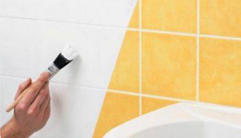 5 советов для тех, кто решил перекрасить керамическую плитку