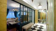 Варианты использования стеклянных перегородок не только в ванной, но и в других комнатах