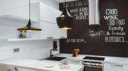 5 способов использования грифельной краски в интерьере