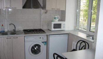 5 причин отказаться от идеи установки стиральной машинки в кухне