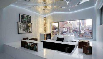 Для каких помещений не стоит выбирать зеркальный потолок
