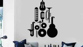 10 вариантов красивого декорирования пустой стены в комнате