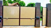 3 причины сменить обычные распашные ворота на автоматические