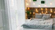 5 вариантов необычного оформления стены у изголовья кровати