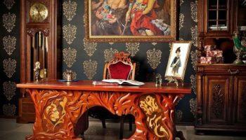 В какие стили интерьера идеально впишется резная мебель