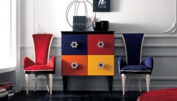 5 секретов правильного использования в интерьере цветной мебели