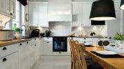 Как спрятать мойку и плиту в дизайне кухне-гостиной
