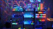 5 вариантов использования в интерьере краски, светящейся в темноте