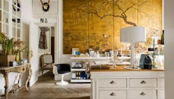 Как использовать золотой цвет в интерьере чтобы выглядело солидно