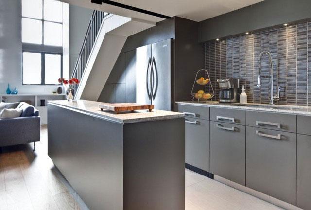 Основные черты стиля лофт для кухни