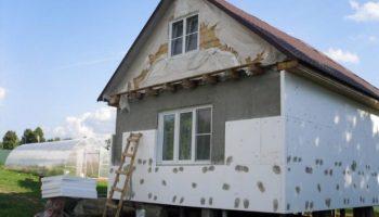 Какие материалы применяются для теплоизоляции дома снаружи