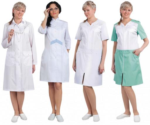 Медицинский халат – критерии выбора