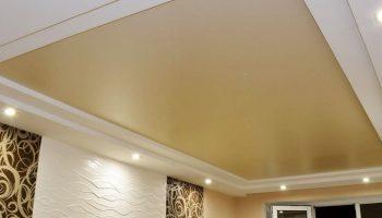 Натяжной потолок – отличное решение для любого интерьера