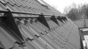 Разновидности снегозадержателей на крышу
