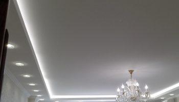 Натяжные потолки: виды, недостатки и преимущества