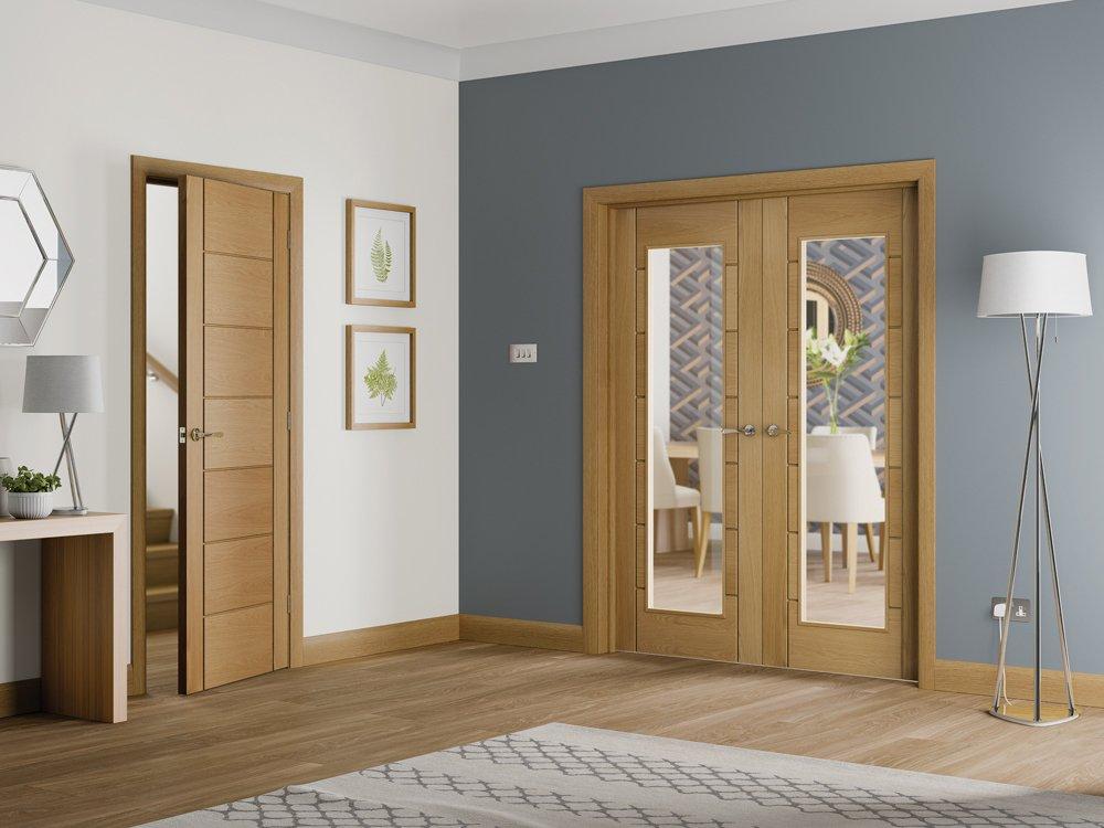 Основные виды межкомнатных дверей по типу открывания