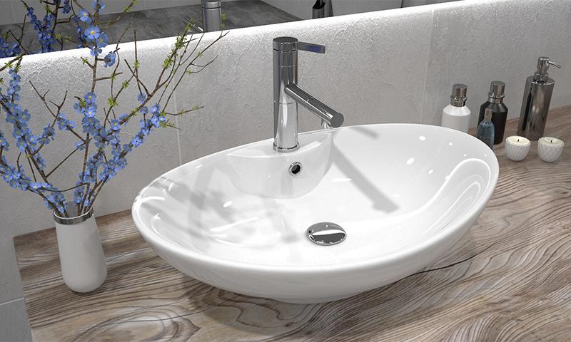 Разновидности раковин для ванной комнаты
