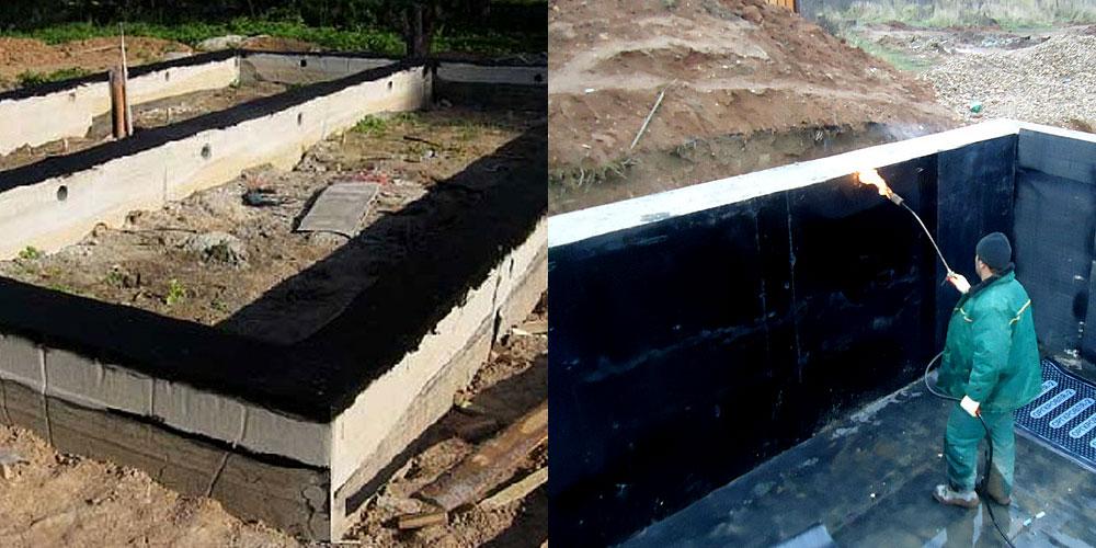 Основные виды гидроизоляции для фундамента