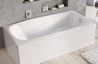 Основные особенности акриловых ванн