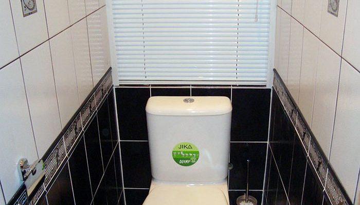 Выбор жалюзи для туалета и ванной комнаты