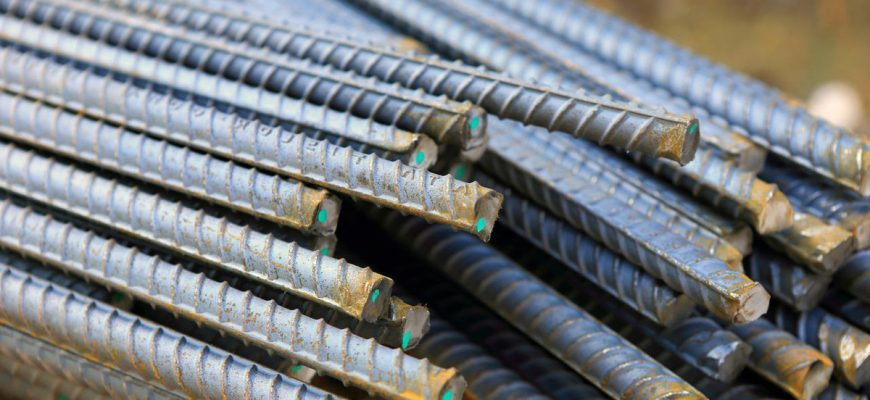 Особенности применения стальной арматуры